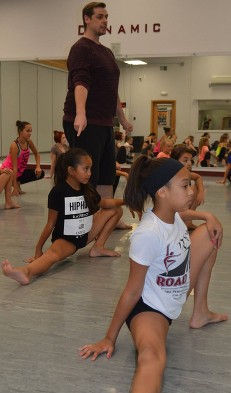 kids stretch & strength class