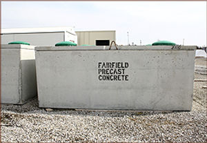 precast septic tanks iowa