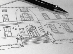 Wedding Venue Sketch