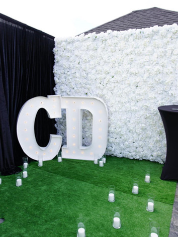 Diamond - Flower Wall
