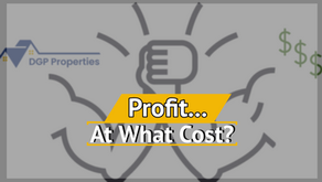 Profit...At What Cost?