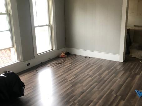 Gastonia Quad - Demo, Painting, and Flooring in Unit 2
