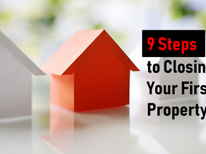 10 Minute Real Estate Lesson 1-Nine steps to closing your first property