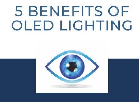 5 Major Benefits of OLED Lighting  Infographic