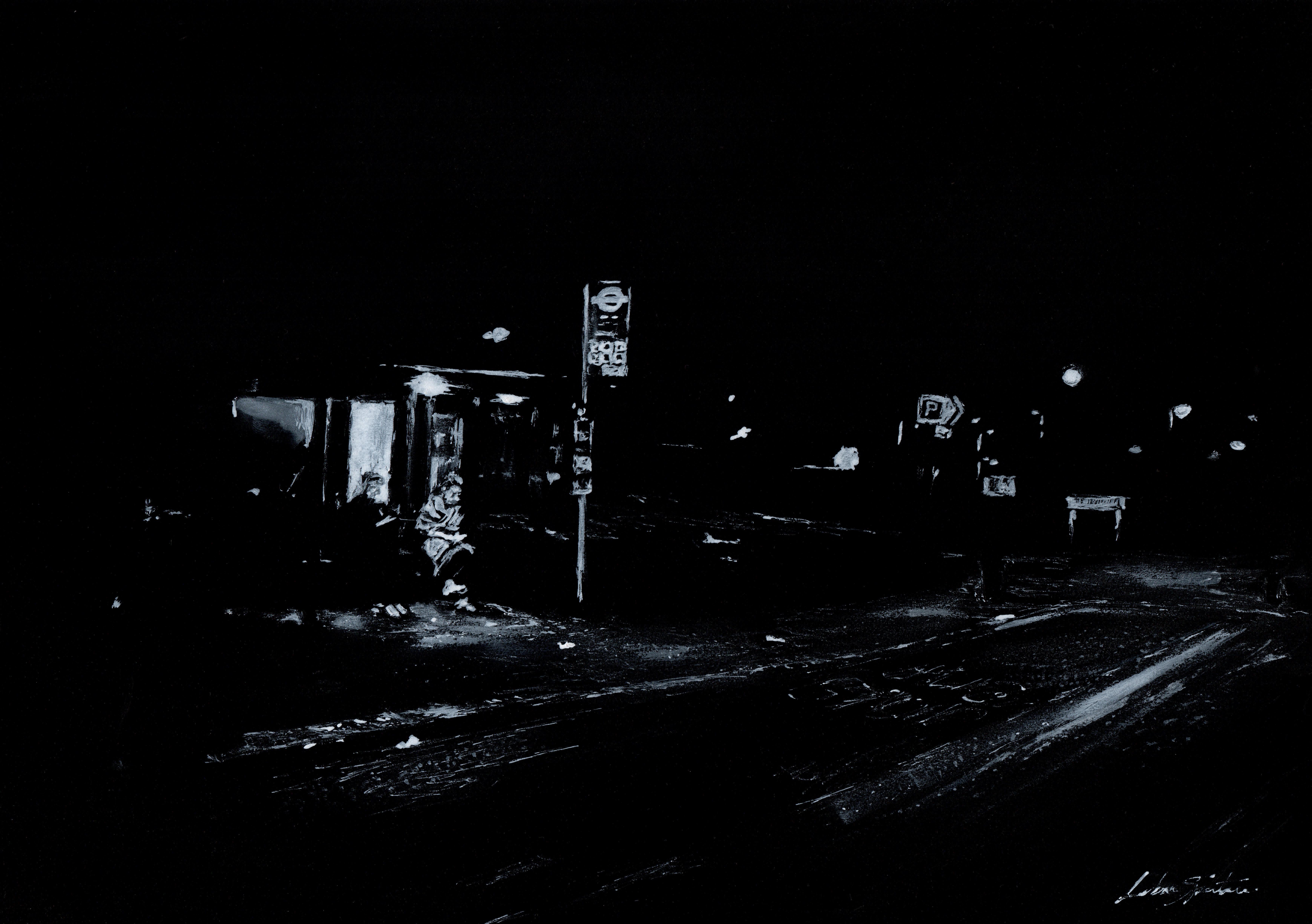 All Saints bus stop, Blackheath