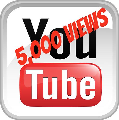 5,000 YouTube Views