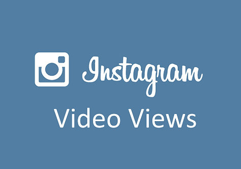 1,000 Instagram Video Views