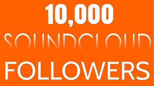 10,000 Soundcloud Followers
