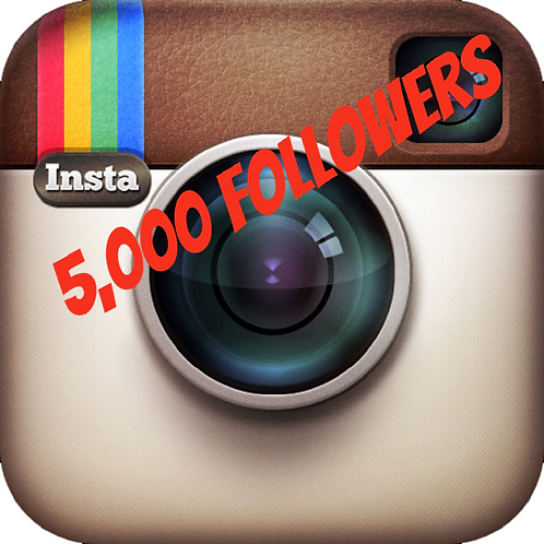 5,000 Instagram Followers