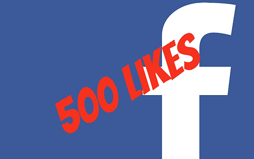 500 Facebook Fanpage Likes