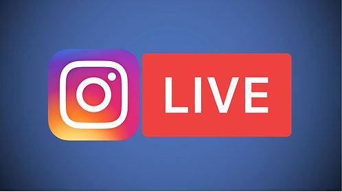50 Instagram Live Views