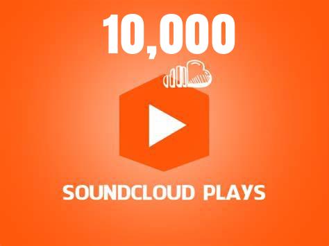 10,000 Soundcloud Plays