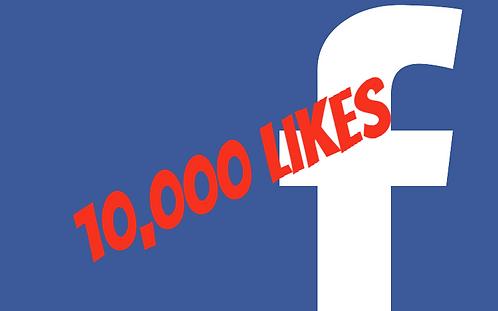 10,000 Facebook Fanpage Likes