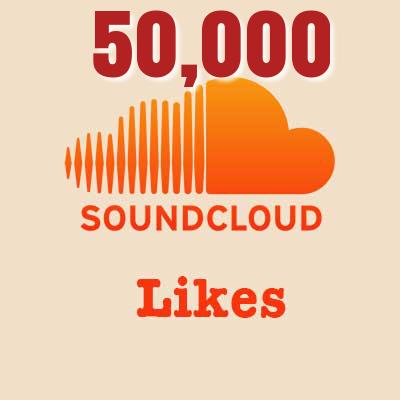 50,000 Soundcloud Likes