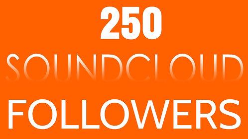 250 Soundcloud Followers