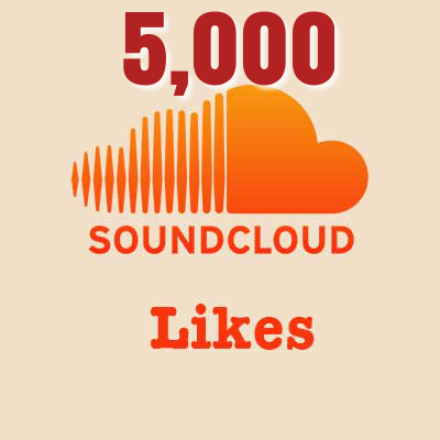 5,000 Soundcloud Likes