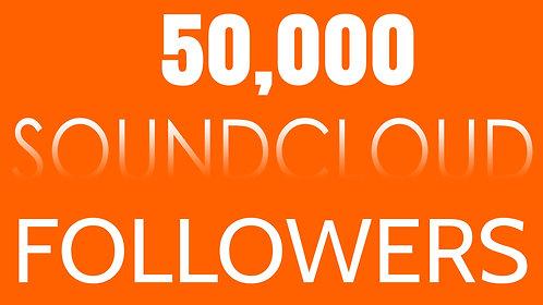50,000 Soundcloud Followers