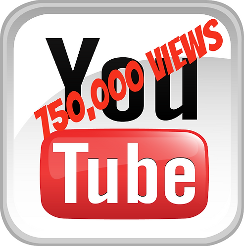 750,000 YouTube Views