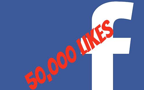50,000 Facebook Fanpage Likes
