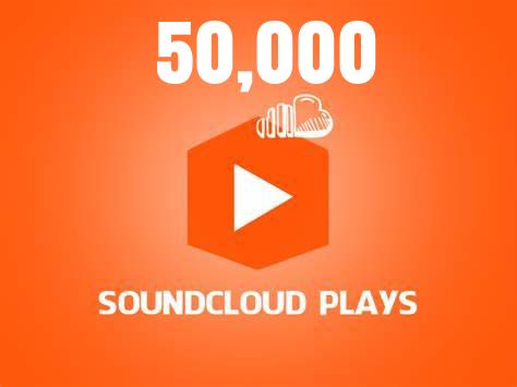 50,000 Soundcloud Plays
