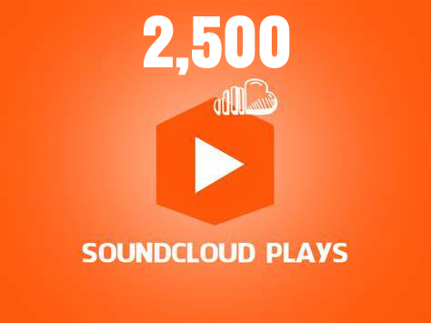 2,500 Soundcloud Plays