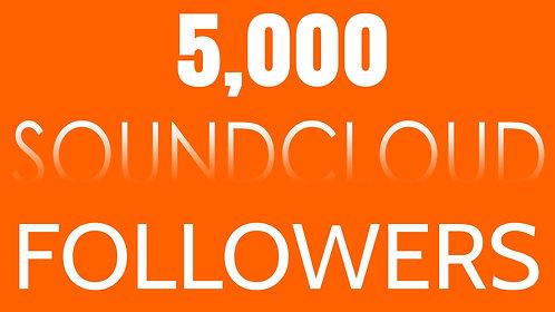 5,000 Soundcloud Followers