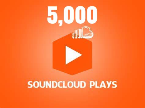5,000 Soundcloud Plays