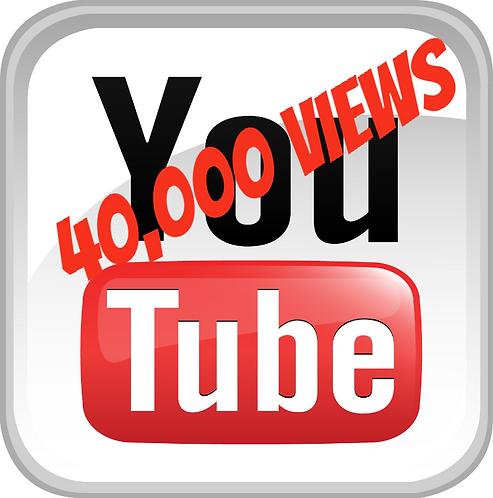 40,000 YouTube Views