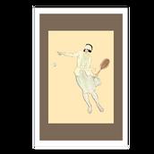 1920's Tennis Girl postcards.png