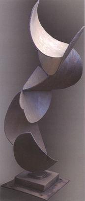 Steel Circles Vert