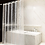 Thumbnail: ComfiTime Shower Curtain Liner | 8G Heavy-Duty Waterproof Shower Curtain Liner