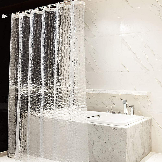 ComfiTime Shower Curtain Liner | 8G Heavy-Duty Waterproof Shower Curtain Liner