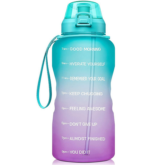 ComfiTime Water Bottle with Time Marker (64 oz)