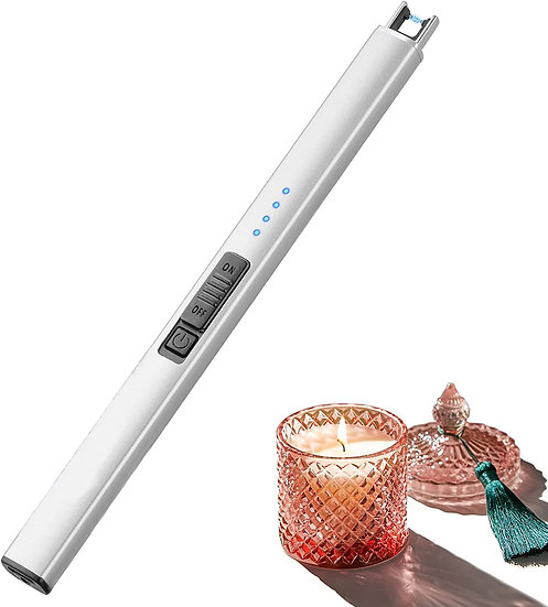 Electric Candle Lighter Plasma Arc Lighters Windproof & Flameless