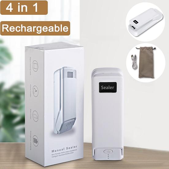 illuminlabs 4-1 Rechargeable Mini Bag Sealer
