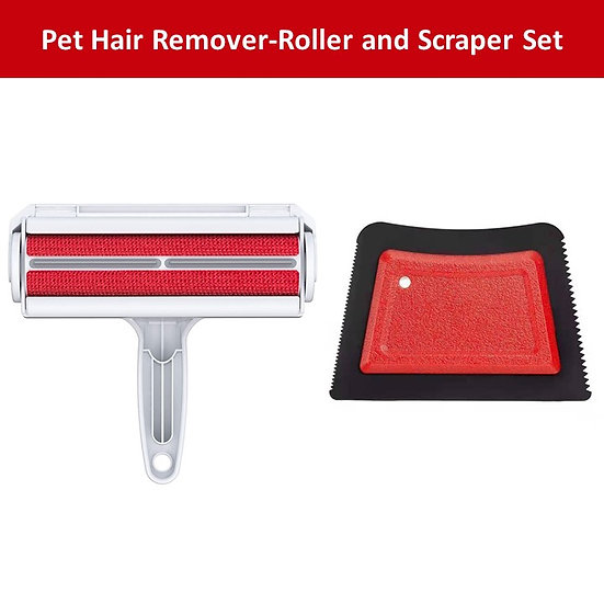 Comfitime Pet Hair Remover, Dog Hair Roller Remover & Cat Hair Scraper Remover