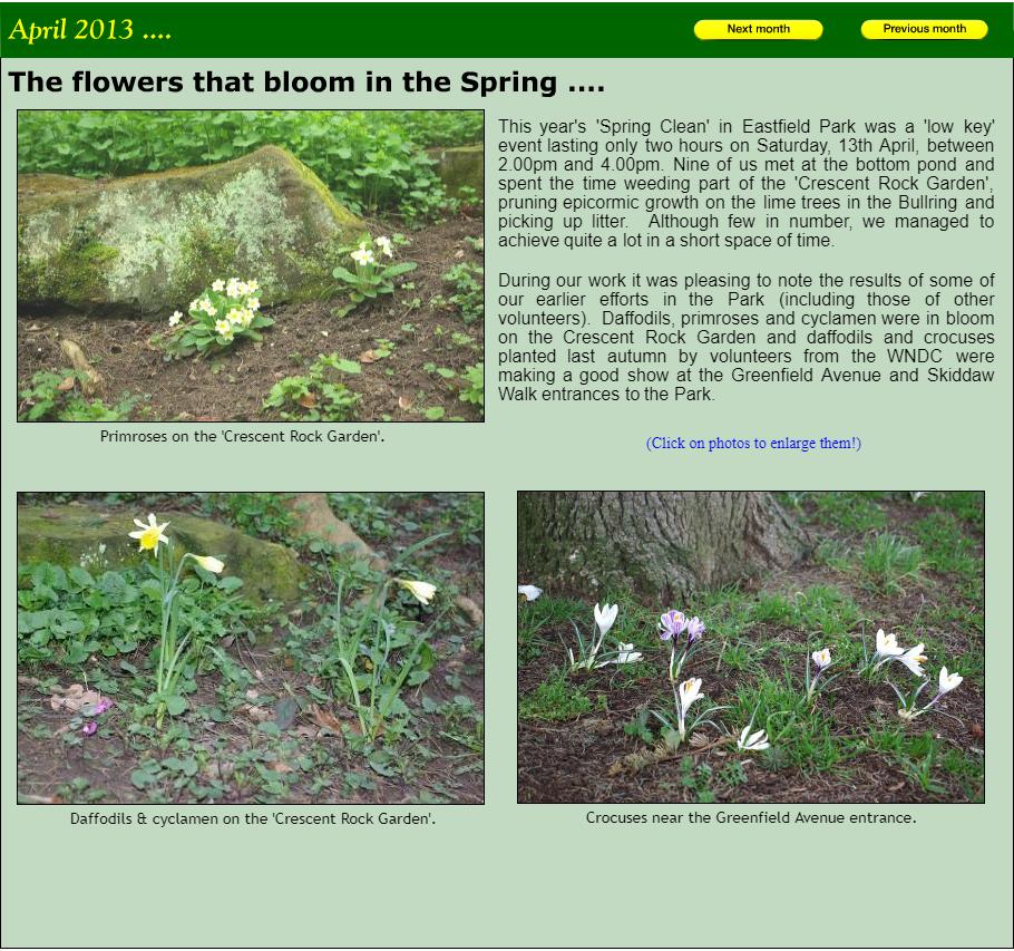NEWS April 2013