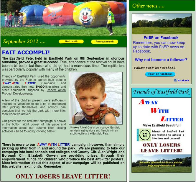 NEWS September 2012