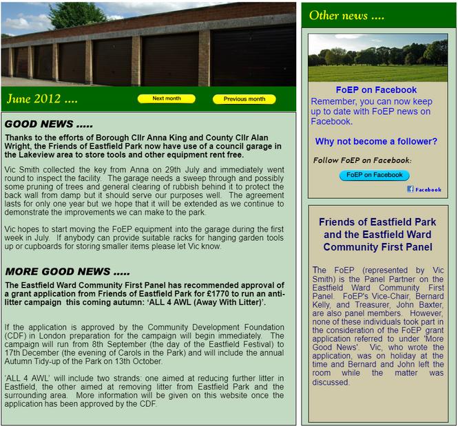 NEWS: June 2012