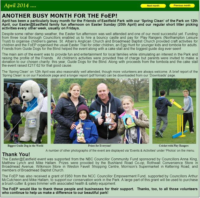 NEWS April 2014