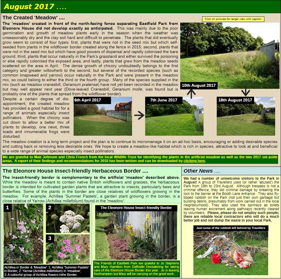 NEWS: August 2017