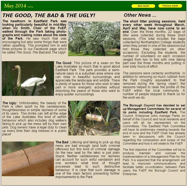 NEWS May 2014