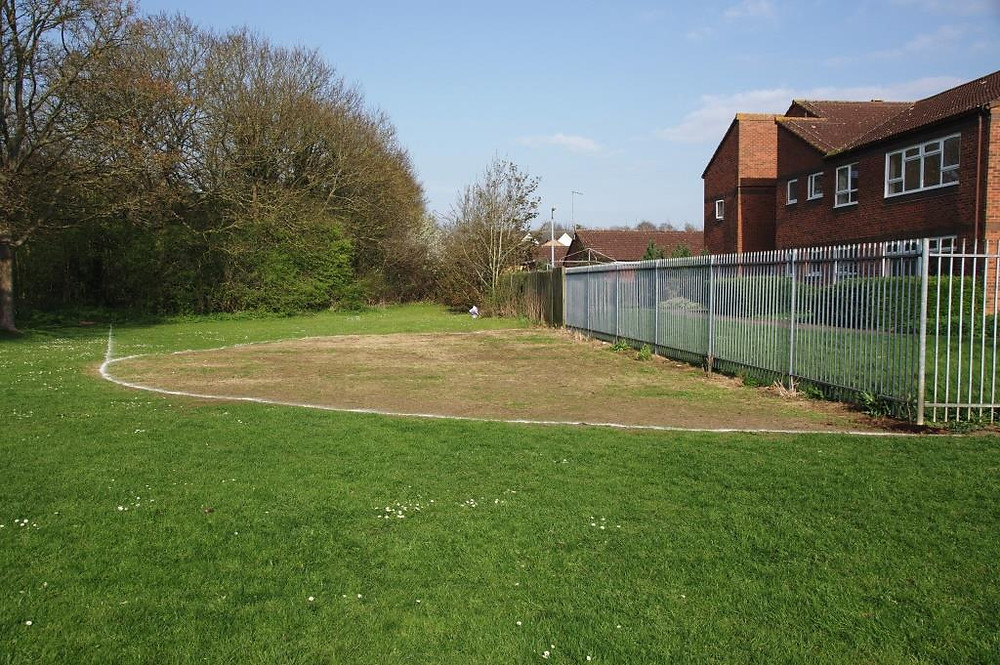 'Seeded meadow' ready for seeding