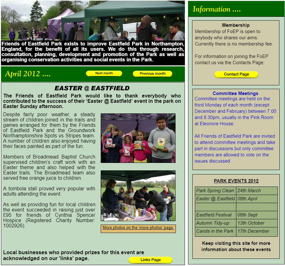 NEWS: April 2012