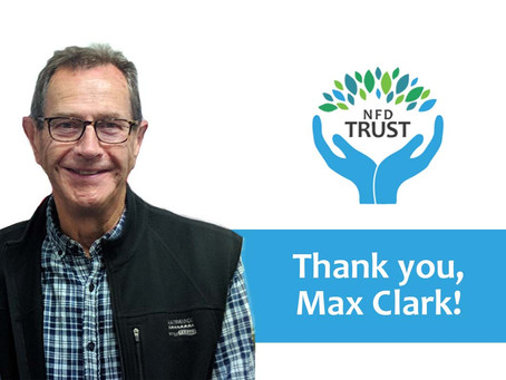 NFD Trust: Thank You, Max Clark!