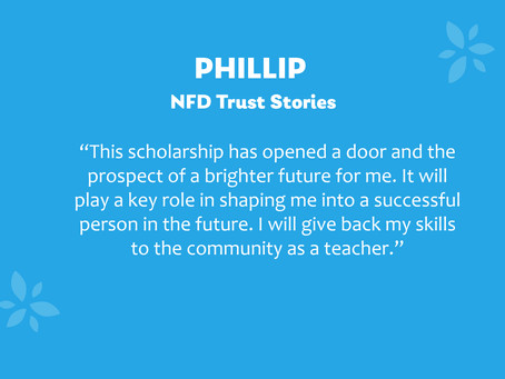 NFD Trust Stories: Phillip
