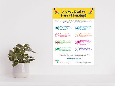 03- Awareness posters- Are you deaf or h