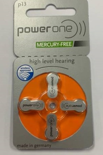 PowerOne 313 Hearing Aid Batteries (4 Cells)