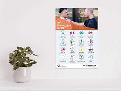 03- Awareness posters- Be hearing loss a