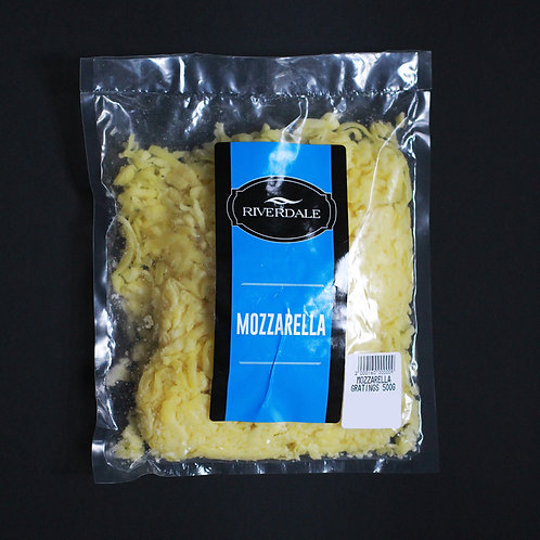 Mozzarella Gratings 500 g